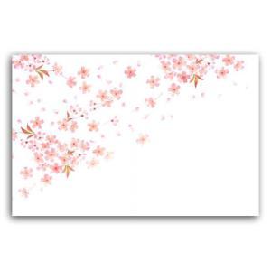 尺五まっと花雅 HM-5 桜(2月〜4月)テーブルマット ランチョンマット (縦310 横440) 100枚|p-maruoka