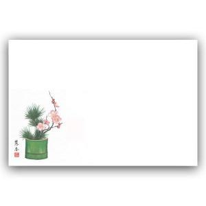 輝 テーブルマット No65松竹梅 迎春 (縦265 横390 紙質食品銀竜(73Kg)) 100枚|p-maruoka