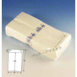 ニュー耐油袋 G-中白無地 (巾120 マチ70 長さ250) 500枚|p-maruoka