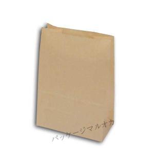 耐油角底袋 S1F 未晒無地 製菓製パン用 (巾120 マチ65 高さ170 紙質耐油未晒50g/m2) 50枚|p-maruoka