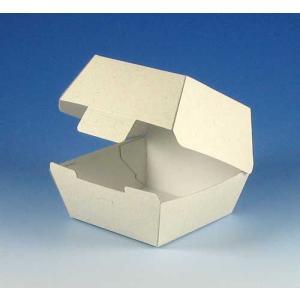 エコパームBOX バーガー1個用 バーガー容器 (縦125 横120 高さ90 底縦95 底横95) 200枚|p-maruoka