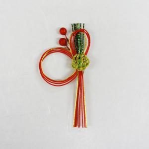 料理飾り MZ-56水引飾り 雅(シールは別添付) (長さ95 巾50) 100個|p-maruoka