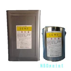 タケシールSGサフ 18kg缶 +専用希釈剤 14kg缶セット|p-nsdpaint