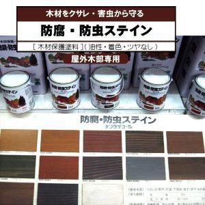 防腐・防虫ステイン ナフタデコール 木材保護塗料 4L ロックペイント|p-nsdpaint
