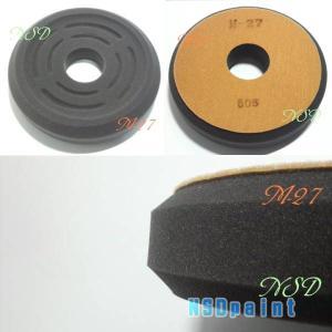 スポンジバフ 仕上げ用 190mmΦ  M−27 ヤマザキウィンベル p-nsdpaint