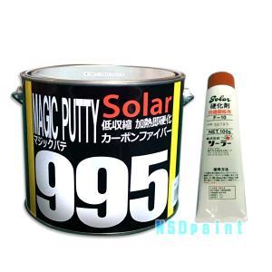 カーボンファイバーパテ 2.5kg マジックパテ #995 F-10 硬化剤付セット p-nsdpaint