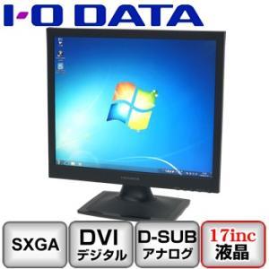 Bランク I/O DATA LCD-AD172SEB アナログ[D-sub15] デジタル[DVI] 17インチ B0411M093 中古 液晶 ディスプレイ|p-pal