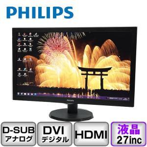 Philips 273V5LHAB アナログ[D-sub15] デジタル[DVI] HDMI 27インチ B2002M003 中古 液晶 ディスプレイ|p-pal