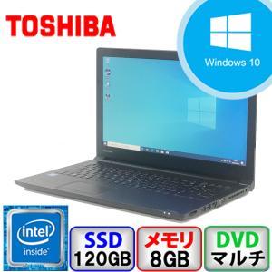 Aランク 東芝 dynabook Satellite B35/R Win10 Celeron メモリ8GB SSD120GB DVD Bluetooth office付 中古 ノート パソコン PC|p-pal