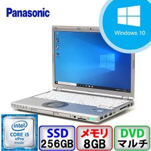 Panasonic Let's note CF-SZ5 Win10 Core i5 メモリ8GB SSD256GB DVD Webカメラ Bluetooth 中古ノートパソコン|p-pal