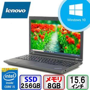 Lenovo ThinkPad L540 Win10 Core i5 メモリ8GB SSD240GB DVD Bluetooth Office付 B2006N146 中古ノートパソコン p-pal