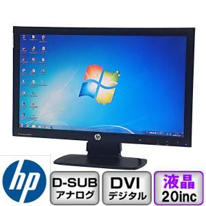 Aランク HP Compaq LE2002x  20インチ 1600x900 アナログ【D-Sub 】デジタル【DVI】ノングレア B2007M001 中古 液晶 ディスプレイ p-pal