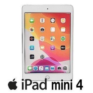 中古 iPad mini4 Wi-Fi+Cellular au版 64GB A1550 MK732J/A 7.9インチ シルバー アクティベーション解除済 白ロム p-pal