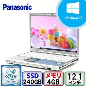 Bランク Panasonic Let's note CF-SZ6 Win10 Core i5 メモリ4GB SSD240GB Webカメラ Bluetooth Office付 中古 ノート パソコン PC|p-pal
