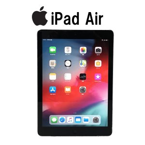 Aランク iPad Air Wi-Fiモデル 16GB A1474 MD785J/A 9.7インチ スペースグレイ アクティベーション解除済 中古 タブレット|p-pal