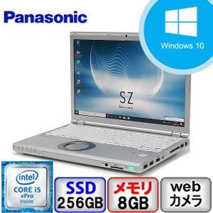 期間限定値下げ商品 Bランク Panasonic Let's Note CF-SZ5 Win10 Pro 64bit Core i5 メモリ8GB SSD256GB Webカメラ Bluetooth Office付 中古 ノート パソコン PC|p-pal
