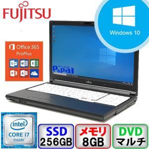 大特価キャンペーン Bランク 富士通 LIFEBOOK A746/P Win10 Core i7 メモリ8GB SSD256GB DVD Webカメラ Bluetooth Office365付 中古 ノート パソコン PC p-pal