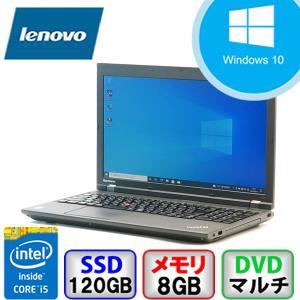 Bランク  Lenovo ThinkPad L540 20AUS1AA00 Win10 Pro 64bit Core i5 2.6GHz メモリ8GB SSD120GB DVD Bluetooth Office付 中古 ノート パソコン PC|p-pal