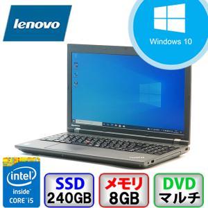 Bランク  Lenovo ThinkPad L540 20AUS3J600 Win10 Pro 64bit Core i5 2.6GHz メモリ8GB SSD240GB DVD Bluetooth Office付 中古 ノート パソコン PC|p-pal