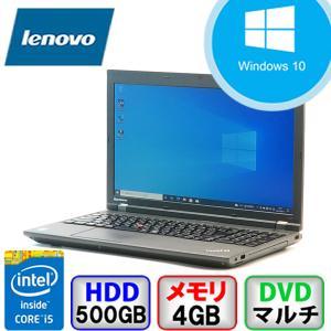Bランク  Lenovo ThinkPad L540 20AUS3J600 Win10 Pro 64bit Core i5 2.6GHz メモリ4GB HD500GB DVD Bluetooth Office付 中古 ノート パソコン PC|p-pal