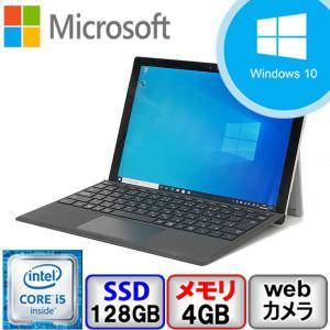 Aランク Microsoft Surface Pro 4 1724 Win10 Core i5 2.4GHz メモリ4GB SSD128GB 12.3インチ Webカメラ Bluetooth Office付 中古 ノート パソコン PC|p-pal