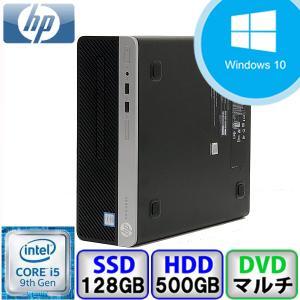 Aランク Windows11対応 HP ProDesk 400 G6 SFF 6EF24AV Win10 Core i5 3GHz メモリ16GB SSD128GB HD500GB DVD Office付 中古 デスクトップ パソコン PC|p-pal