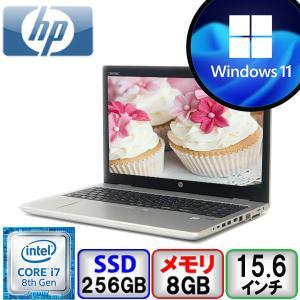 訳あり マウス付 Bランク HP ProBook 650 G4 2VX22AV Win10 Pro 64bit Core i7 メモリ8GB SSD256GB DVD Webカメラ Bluetooth Office付 中古 ノート パソコン PC p-pal