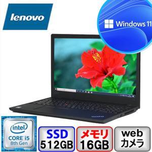 Bランク Lenovo ThinkPad L590 20Q8S0CA00 Win11 Pro 64bit Core i5 1.6GHz メモリ16GB SSD512GB Webカメラ Bluetooth Office付 中古 ノート パソコン PC|p-pal