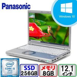Bランク Panasonic Let's note CF-SZ5 Win10 Core i5 メモリ8GB SSD256GB Webカメラ Bluetooth Office付 中古 ノート パソコン PC|p-pal