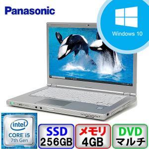 Aランク  Panasonic Let's note CF-LX6 CF-LX6RDHVS Win10 Pro 64bit Core i5 メモリ4GB SSD256GB DVD Webカメラ Bluetooth Office付 中古 ノート パソコン PC|p-pal