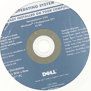 【代引き不可】リカバリディスク Dell リカバリディスク E7240 E7440 Win7 Pro SP1 32bit 3枚 D-E7240-E7440|p-pal
