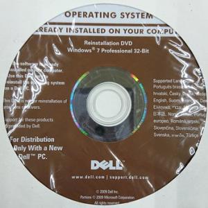 【代引き不可】リカバリディスク Dell リカバリディスク OPERATING SYSTEM Windows7 Professional 32-Bit 7枚 DELL-Win7-32PN0PPK5P|p-pal