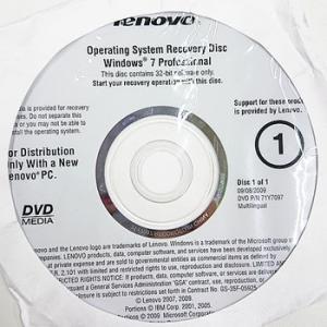 【代引き不可】リカバリディスク lenovo Win7 32bit Operating System/ Applications and Drivers Recovery 2枚セット 58Y3949 71Y7097 Leno-58Y3949-71Y7097|p-pal