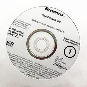【代引き不可】リカバリディスク lenovo Vista 再セットアップ/ オペレーティングディスク 3枚セット☆43R9961 46R5200 46U9780 LeVre3-1 p-pal