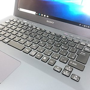 中古ノートパソコン SONY VAIO S(SB)シリーズ VPCSB2AJ Windows 10 Home 64bit Core i7 2.7GHz メモリ8GB 新品SSD240GB DVDマルチ 13.3インチ S0516N079 p-pal 02