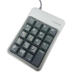 【中古】【送料無料】ELECOM USB接続テンキーボード TK-UEHシリーズ シルバー|p-pal