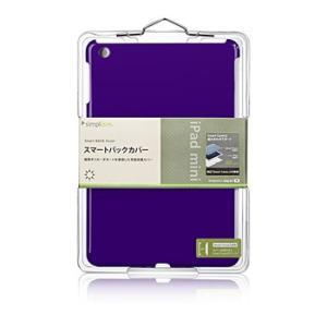 【新品】【メール便 送料無料】iPad スマートバックカバー(iPad mini) パープル TR-SBIPDM12-DP|p-pal