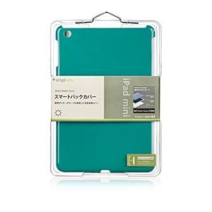 【新品】【メール便 送料無料】iPad スマートバックカバー(iPad mini)グリーン TR-SBIPDM12-GR|p-pal