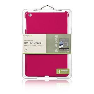 【新品】【メール便 送料無料【iPad スマートバックカバー(iPad mini) ピンク TR-SBIPDM12-PK|p-pal