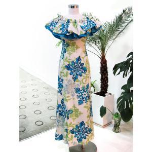 フラダンス衣装 フラドレス フリル D-17-A0475|p-para