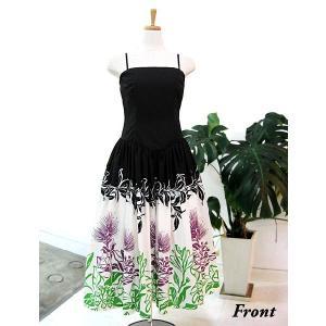 ワンピース/フラダンスドレス フラ衣装 DAI003-B0448 ブラック|p-para