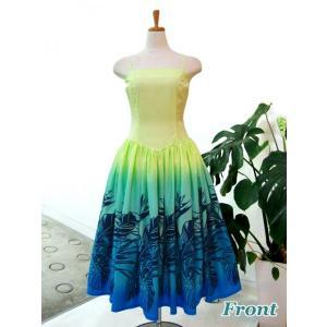 ワンピース/フラダンスドレス フラ衣装 DAI003-B0460 Mサイズ|p-para