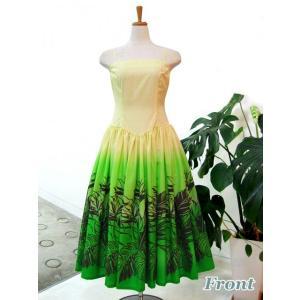 ワンピース/フラダンスドレス フラ衣装 DAI003-B0461 Mサイズ|p-para