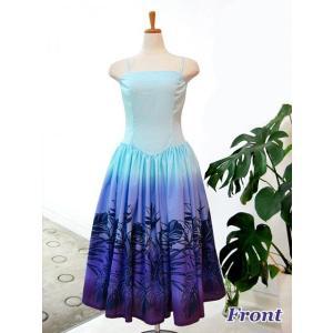 ワンピース/フラダンスドレス フラ衣装 DAI003-B0462 Mサイズ|p-para