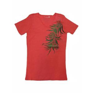 半袖ストレッチTシャツ レアリーフ(ピンク)XL有り|p-para