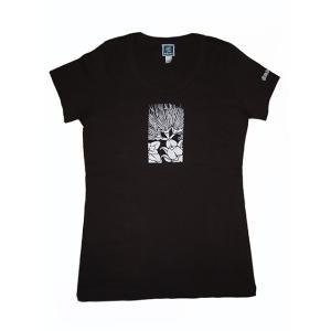 ROCO's Tシャツ レフア Mサイズ(ダークブラウン) p-para