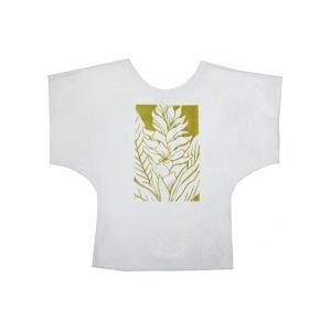 ROCO's ドルマンTシャツ ジンジャー/アヴァプヒ(ホワイト)|p-para