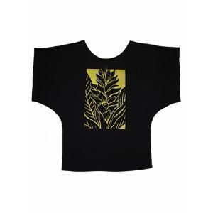 ROCO's ドルマンTシャツ ジンジャー/アヴァプヒ(ブラック)|p-para