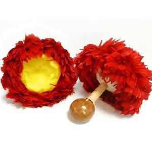 ウリウリ一体型 Sサイズ 赤×黄 羽根直径約28~31cm|p-para