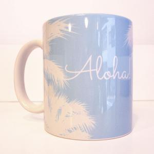 ハワイアンマグカップ ヤシの木 Aloha!|p-para